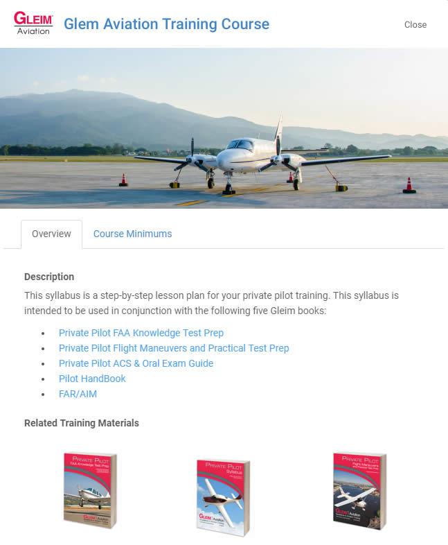 Gleim Aviation Training Course