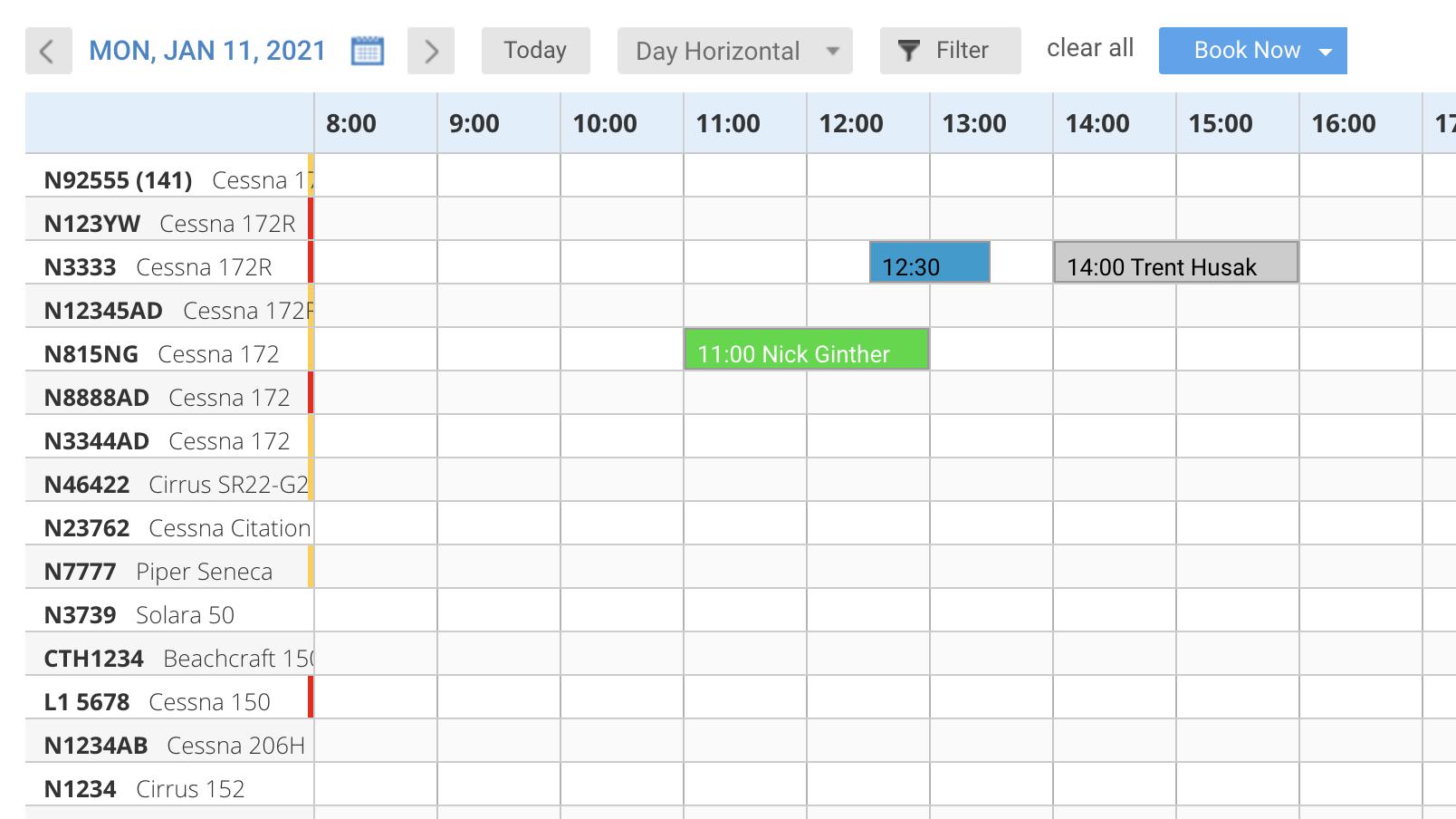 Flight scheduling tool - Flight Schedule Pro